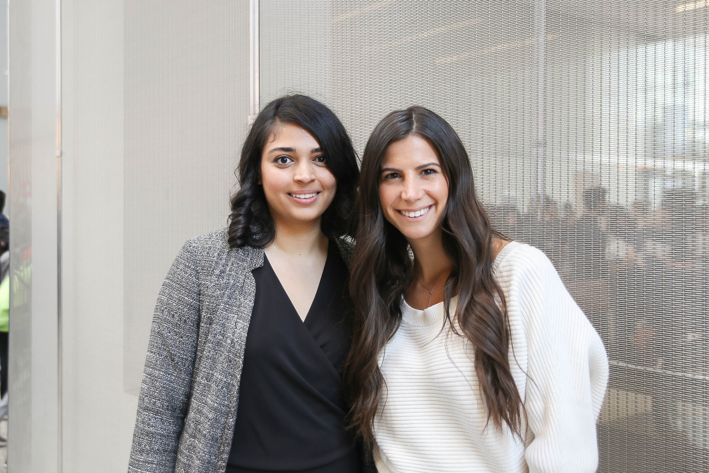 Shonezi Noor (left) and Cynthia Nakad